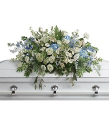 Tender Remembrance Casket Spray from your local Clinton,TN florist, Knight's Flowers
