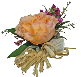 To Have & To Hold Corsage from your local Clinton,TN florist, Knight's Flowers