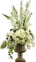 Elegant Urn from your local Clinton,TN florist, Knight's Flowers