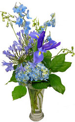 Whimsical Blues Bouquet from your Clinton, TN florist