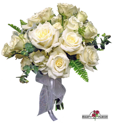 Simply Chic Bridal Bouquet from your local Clinton,TN florist, Knight's Flowers